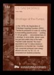 2001 Topps American Pie #134   U.S. Gas Shortage Back Thumbnail