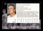 2001 Topps American Pie #87  Tug McGraw  Back Thumbnail
