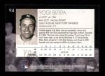 2001 Topps American Pie #94  Yogi Berra  Back Thumbnail