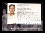 2001 Topps American Pie #96  Jimmy Piersall  Back Thumbnail