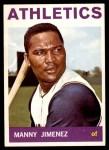 1964 Topps #574  Manny Jimenez  Front Thumbnail