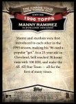 2010 Topps Cards Your Mom Threw Out #103 CMT Manny Ramirez  Back Thumbnail