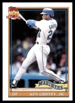2010 Topps Cards Your Mom Threw Out #98 CMT Ken Griffey Jr.  Front Thumbnail