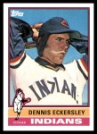 2010 Topps Cards Your Mom Threw Out #83 CMT Dennis Eckersley  Front Thumbnail