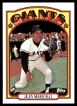2010 Topps Cards Your Mom Threw Out #79 CMT Juan Marichal  Front Thumbnail