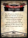 2010 Topps Cards Your Mom Threw Out #64 CMT Whitey Ford  Back Thumbnail