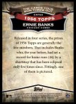 2010 Topps Cards Your Mom Threw Out #63 CMT Ernie Banks  Back Thumbnail