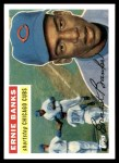 2010 Topps Cards Your Mom Threw Out #63 CMT Ernie Banks  Front Thumbnail
