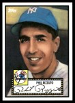 2010 Topps Cards Your Mom Threw Out #59 CMT Phil Rizzuto  Front Thumbnail