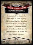 2010 Topps Cards Your Mom Threw Out #58 CMT Evan Longoria  Back Thumbnail