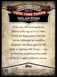 2010 Topps Cards Your Mom Threw Out #37 CMT Nolan Ryan  Back Thumbnail