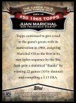 2010 Topps Cards Your Mom Threw Out #14 CMT Juan Marichal  Back Thumbnail