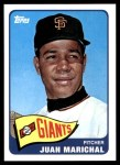 2010 Topps Cards Your Mom Threw Out #14 CMT Juan Marichal  Front Thumbnail