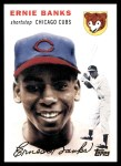 2010 Topps Cards Your Mom Threw Out #3 CMT Ernie Banks  Front Thumbnail