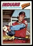 1977 Topps #115  Rick Manning  Front Thumbnail