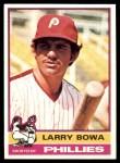 1976 Topps #145  Larry Bowa  Front Thumbnail