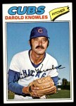 1977 Topps #169  Darold Knowles  Front Thumbnail