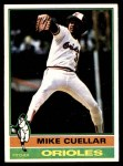 1976 Topps #285  Mike Cuellar  Front Thumbnail