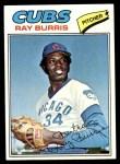 1977 Topps #190  Ray Burris  Front Thumbnail