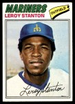 1977 Topps #226  Leroy Stanton  Front Thumbnail