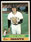 1976 Topps #332  Charlie Williams  Front Thumbnail