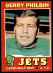 1971 Topps #98  Gerry Philbin  Front Thumbnail