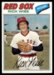 1977 Topps #455  Rick Wise  Front Thumbnail