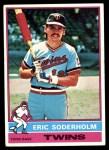1976 Topps #214  Eric Soderholm  Front Thumbnail