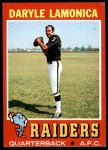 1971 Topps #70  Daryle Lamonica  Front Thumbnail