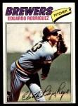 1977 Topps #361  Eduardo Rodriguez  Front Thumbnail