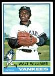 1976 Topps #123  Walt Williams  Front Thumbnail