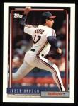 1992 Topps #79  Jesse Orosco  Front Thumbnail