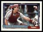 1992 Topps #159  Darrin Fletcher  Front Thumbnail