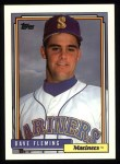 1992 Topps #192  Dave Fleming  Front Thumbnail
