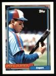 1992 Topps #240  Andres Galarraga  Front Thumbnail