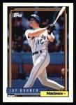 1992 Topps #327  Jay Buhner  Front Thumbnail