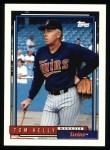 1992 Topps #459  Tom Kelly  Front Thumbnail