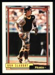 1992 Topps #524  Don Slaught  Front Thumbnail