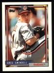 1992 Topps #735  Greg Swindell  Front Thumbnail