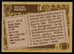 1986 Topps #20  William Perry  Back Thumbnail