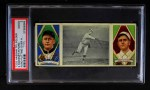 1912 T202 Hassan   -  Russ Ford / Jeff Sweeney Ford Putting Over Spitter  Front Thumbnail