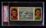 1912 T202 Hassan   -  Johnny Kling / Harry Steinfeldt Lobert Almost Caught  Front Thumbnail