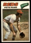 1977 Topps Cloth Stickers #38  Pete Rose  Front Thumbnail