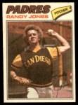 1977 Topps Cloth Stickers #23  Randy Jones  Front Thumbnail