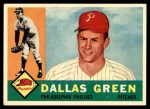 1960 Topps #366  Dallas Green  Front Thumbnail