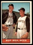 1961 Topps #250   -  Vern Law / Roy Face Buc Hill Aces Front Thumbnail
