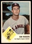 1963 Fleer #20  Bob Rodgers  Front Thumbnail
