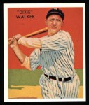 1934 Diamond Stars Reprint #12  Dixie Walker  Front Thumbnail