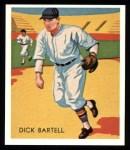 1934 Diamond Stars Reprint #101  Dick Bartell  Front Thumbnail