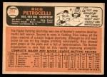 1966 Topps #298  Rico Petrocelli  Back Thumbnail